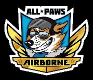All Paws Airborne Flyball Club  logo