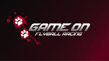 Game On Flyball Racing logo