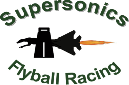 Supersonics Flyball Racing Team logo